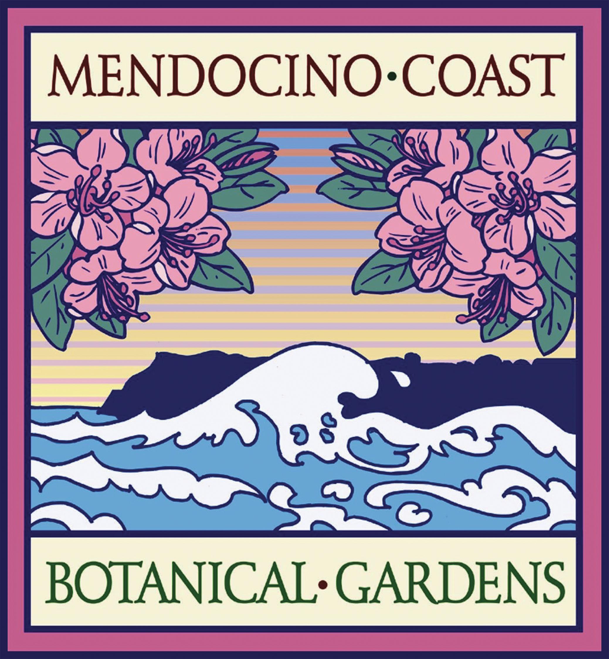 Mendocino Coast Botanical Garden Logo